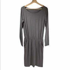 Garnet Hill Blouson long sleeve dress- size XS